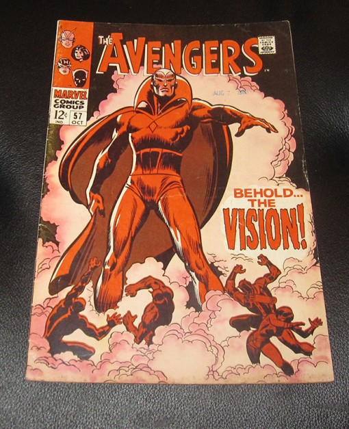 Avengers 57 First Appearance of The Vision