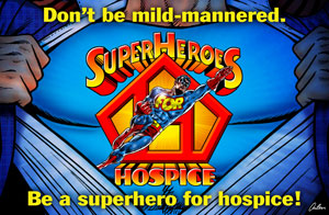 Superheroes for Hospice is Great!