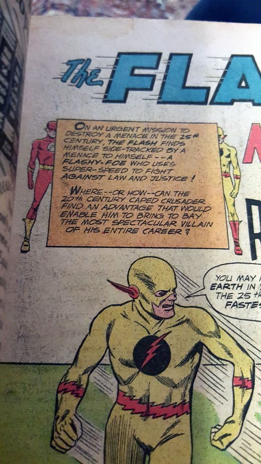Reverse Flash First Appearance Mistake
