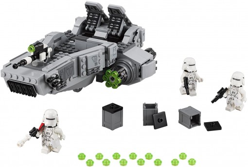 02 - Lego First Order Snow Speeder