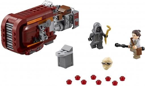 06 - Lego Rey's Speeder