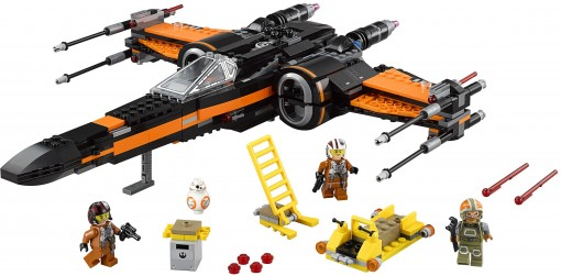 08 - Lego Poe's X-Wing
