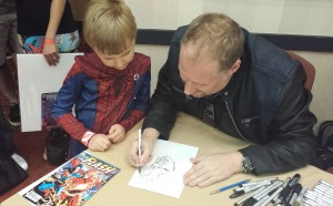 Ethan Van Sciver Sketching Two Face