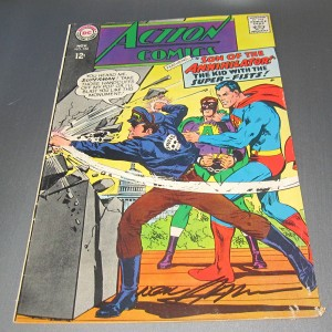 Action Comics 356, Neal Adams first cover art!