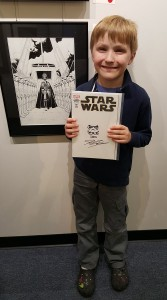 My Signed and Sketched John Cassaday Star Wars #1