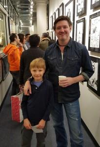 John Cassaday and Me at Metropolis Comics Star Wars Exhibit