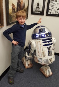 R2-D2 and Me with John Cassaday's Art