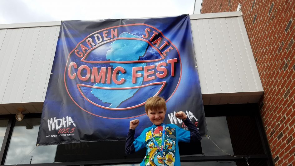 Highlights of the 2016 Garden State Comic Fest!