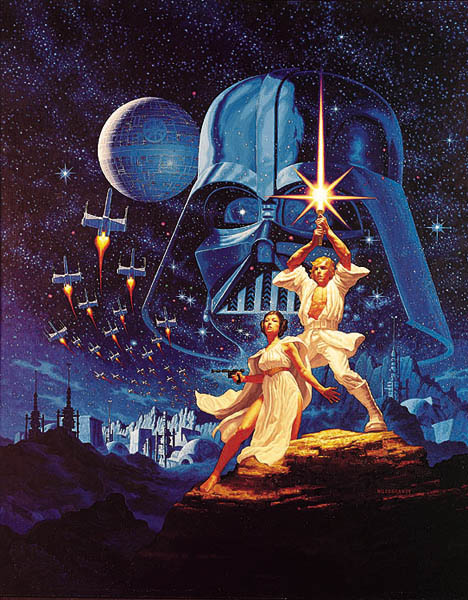The Making of the Star Wars Poster with Greg Hildebrandt