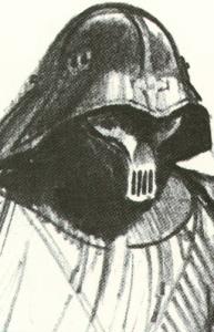 Ralph McQuarrie's Darth Vader sketch