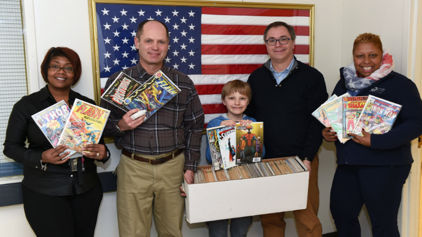 Comics for Veterans