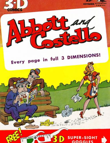 Abbott and Costello's Journey into 3D
