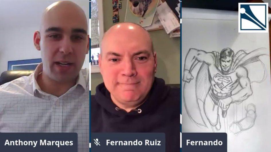 Art Lessons in Quarantine – Thanks to the Kubert School!