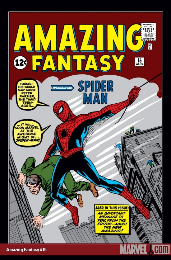 The Amazing, Most-Awesomest Amazing Fantasy #15!