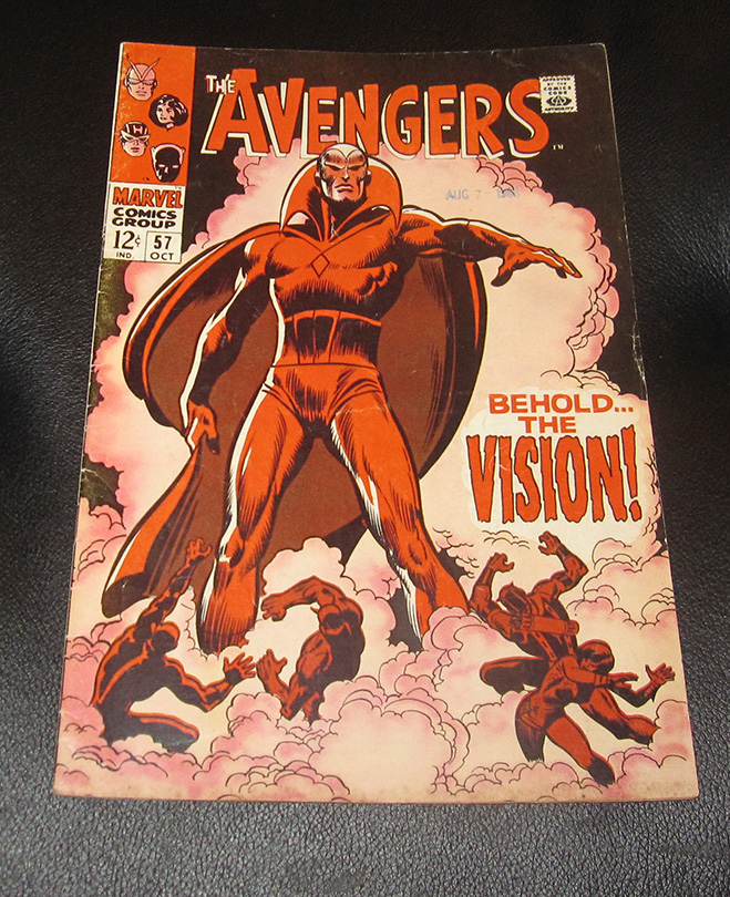 First Appearance of Vision: All About Avengers #57