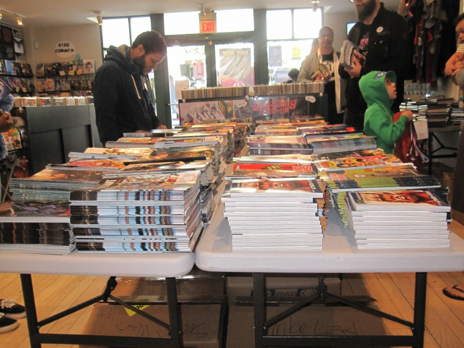 Free Comic Book Day Is Awesome!