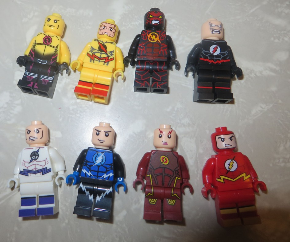 About Flash Custom Minifigures