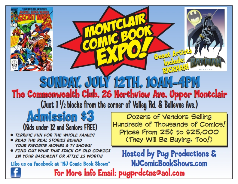 All About JP's NJ Comic Book Shows (They're Awesome)