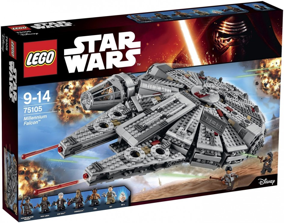 Breaking News! New Star Wars Lego Sets for The Force Awakens Leaked!