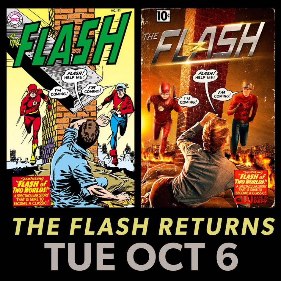Golden Age Flash Is Revealed!