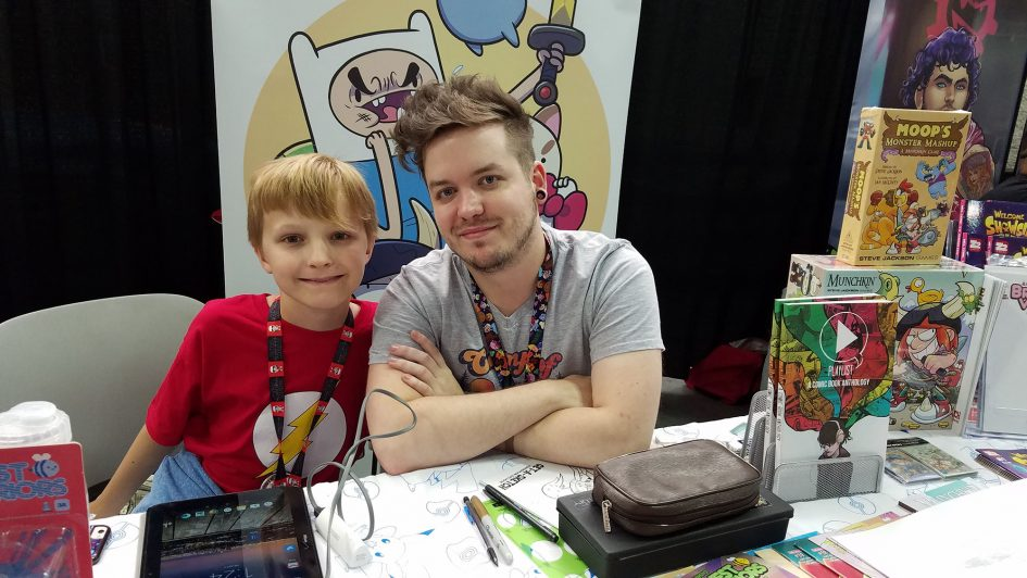 Ian McGinty: Making a Career Out of Comics