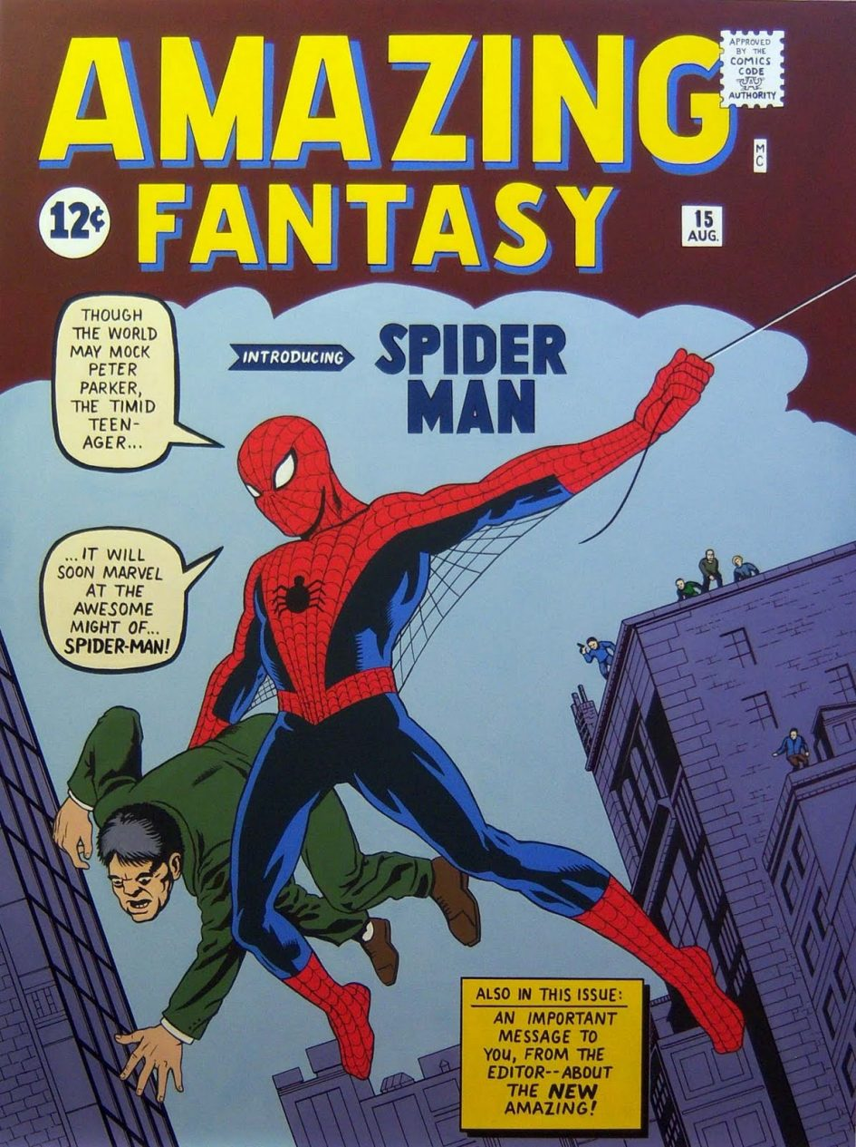 The Mystery behind the Cover of Amazing Fantasy #15