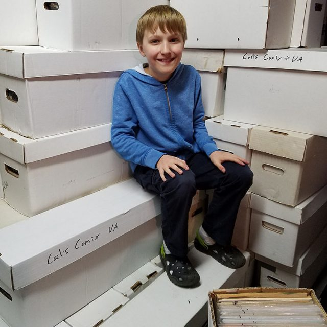 Comic Donation 2.0 – With a Little Help From My Friends