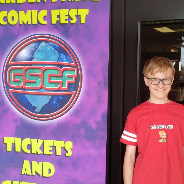 Garden State Comic Fest in 60 Seconds!
