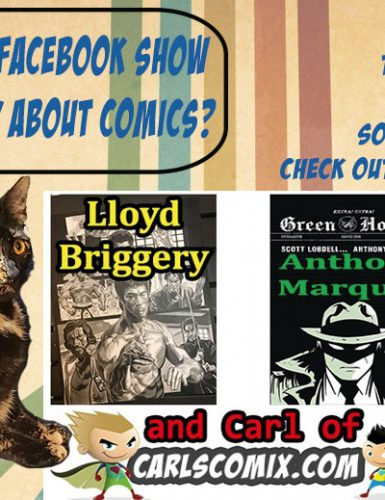 Facebook Live Show with East Side Mags, Anthony Marques, Lloyd Briggery & Me!